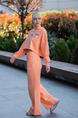 Set Love hanorac imprimat si pantalon Papaya [6]