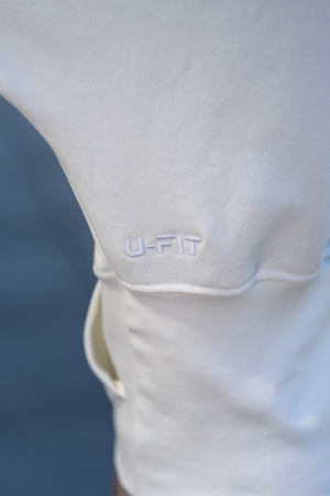 Set Cotton Cloud hanorac si pantalon Off White [7]