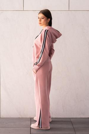 Set Line-Fit hanorac si pantalon Rose Quartz [1]