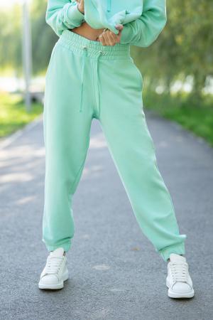 Set Easy-Fit hanorac si pantalon Oversized Mint [5]