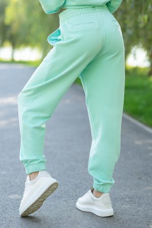 Set Easy-Fit hanorac si pantalon Oversized Mint [7]