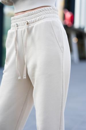 Set Easy-Fit hanorac si pantalon Oversized Light Beige [6]