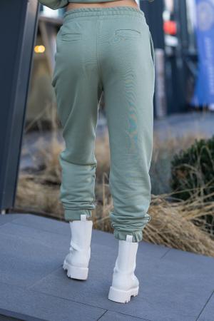 Set Easy-Fit hanorac si pantalon Oversized Light Olive [14]