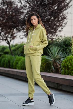 Set Easy-Fit hanorac oversized si pantalon Green Leaf [0]
