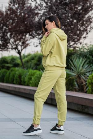 Set Easy-Fit hanorac oversized si pantalon Green Leaf [2]