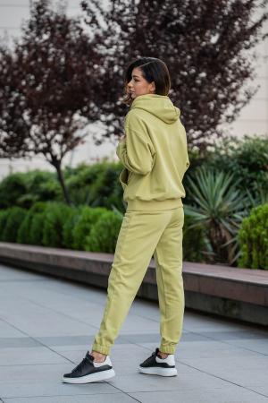 Set Easy-Fit hanorac oversized si pantalon Green Leaf [4]