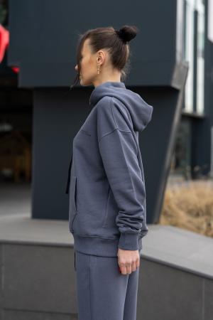 Set Easy-Fit hanorac si pantalon Oversized Anthracite Grey [10]