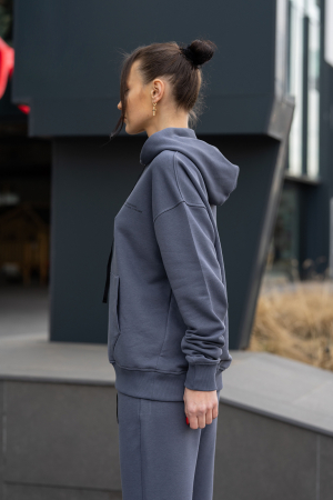 Hanorac Oversized Easy-Fit Anthracite Grey [1]