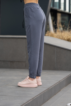 Set Easy-Fit hanorac si pantalon Oversized Anthracite Grey [7]