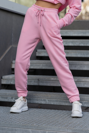 Set hanorac si pantalon Oversized Easy-Fit Rose [8]