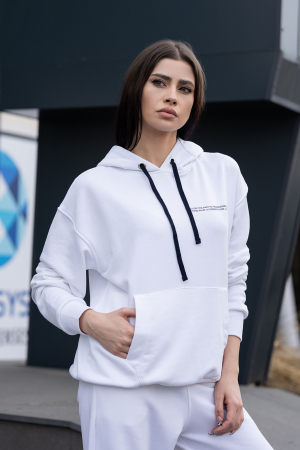 Hanorac Easy-Fit Oversized Off White [0]