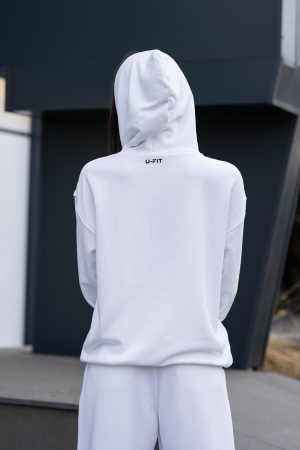 Hanorac Easy-Fit Oversized Off White [3]