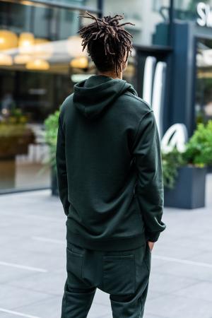 Set Kali Pro-Fit hanorac si pantalon cu tur lasat Dark Green [9]