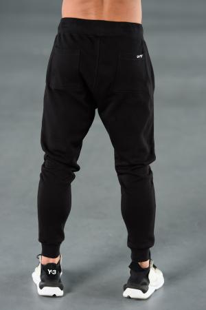 Set Kali-Fit hanorac si pantalon conic cu tur lasat Black [10]