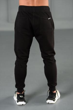 Set Kali-Fit hanorac si pantalon conic cu tur lasat Off White/Black [9]