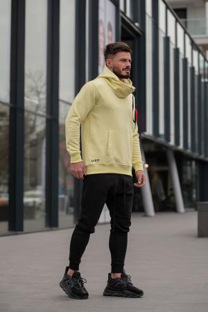 Set Kali-Fit hanorac si pantalon conic Yellow/Black [2]