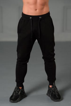 Set Kali-Fit II hanorac imprimat si pantalon conic cu tur lasat Off White/Black [6]