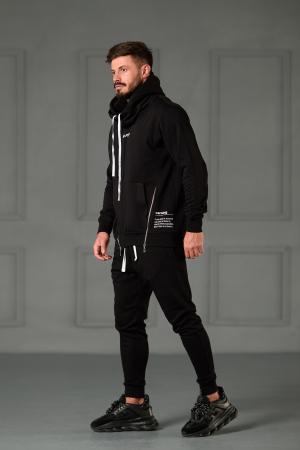 Set Kali Pro-Fit hanorac si pantalon cu tur lasat Black [4]