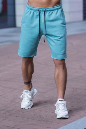 Set Malibu hanorac si pantalon scurt Dusty Turquoise [10]
