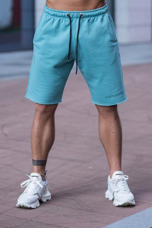 Set Malibu hanorac si pantalon scurt Dusty Turquoise [9]