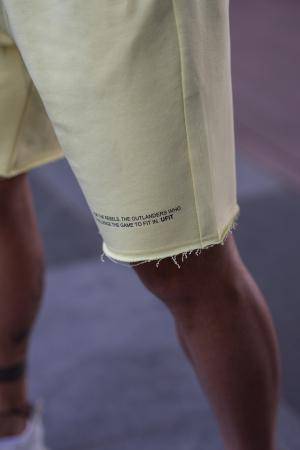 Set Malibu hanorac si pantalon scurt Yellow [8]