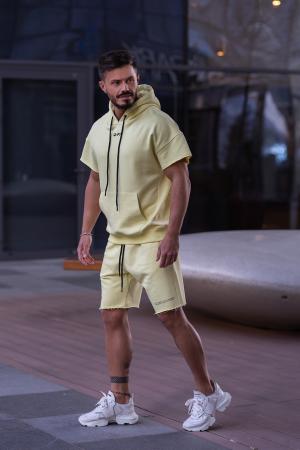 Set Malibu hanorac si pantalon scurt Yellow [4]
