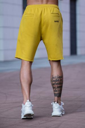 Set Malibu hanorac si pantalon scurt Mustard [10]