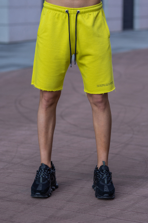 Set Malibu hanorac si pantalon scurt lime green [9]