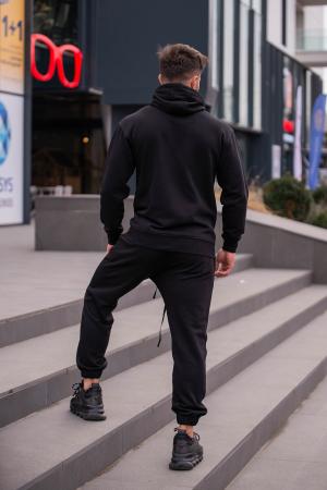 Set Rock-Fit hanorac si pantalon Black [4]