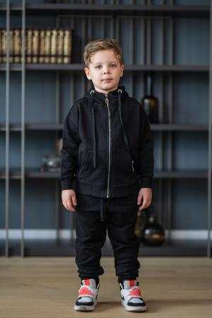 Set Rock-Fit Kids hanorac si pantalon black [1]