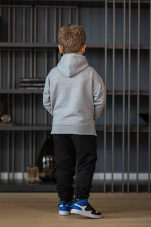 Set Rock-Fit Kids hanorac si pantalon grey/black [6]