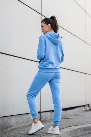 Set Row hanorac si pantalon Aqua Blue [1]