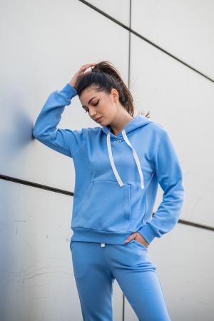 Set Row hanorac si pantalon Aqua Blue [2]