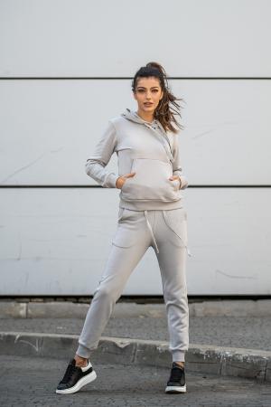 Set Row hanorac si pantalon Grey [0]