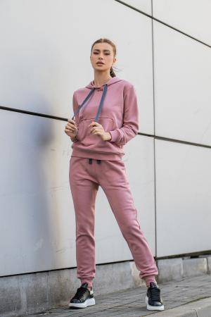 Set Row hanorac si pantalon Rose Quartz [0]