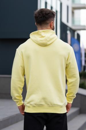 Set Star-Fit hanorac si pantalon conic galben/negru [7]