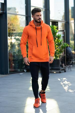 Set Kali-Fit hanorac si pantalon portocaliu/negru [0]
