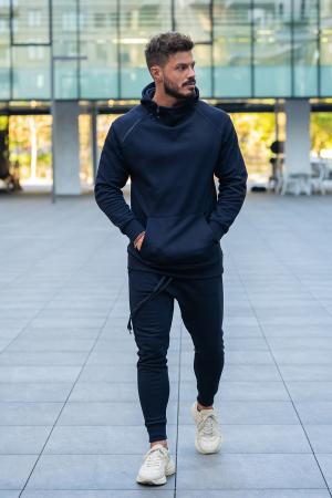 Pantalon conic Navy [3]