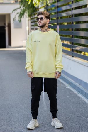 Bluza Easy-Fit Oversized galben [3]
