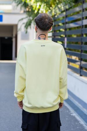 Bluza Easy-Fit Oversized galben [2]