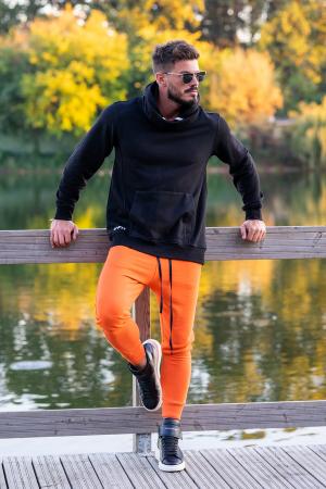 Set Kali-Fit hanorac si pantalon conic Black/Orange [0]