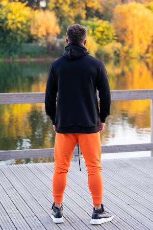Set Kali-Fit hanorac si pantalon conic Black/Orange [3]