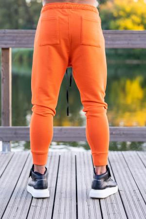 Set Kali-Fit hanorac si pantalon conic Black/Orange [4]
