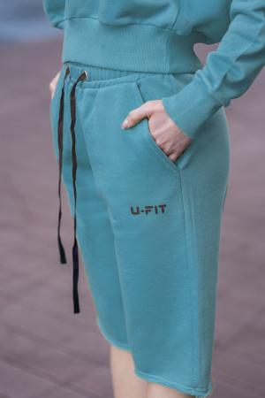 Set Undone Bluza si Pantalon Scurt Dusty Turquoise [11]
