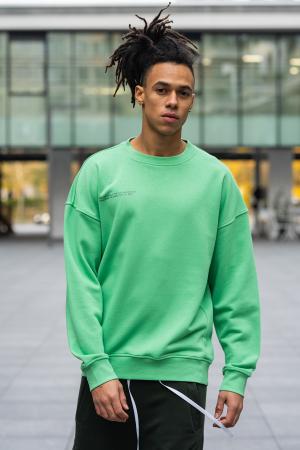 Bluza West Cartel Oversized Green [0]