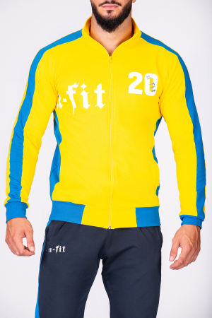 Trening Bumbac Color-Fit Yellow [3]