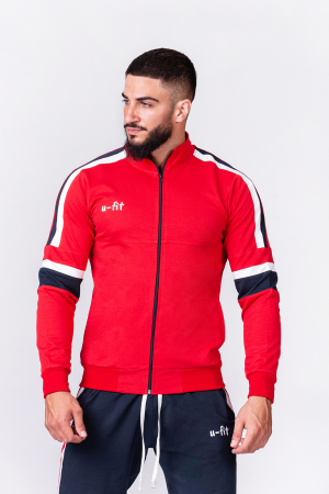 Trening Bumbac CR-Fit Red/Navy [5]