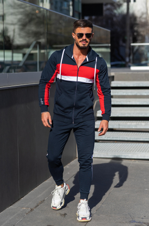 Trening bumbac Care-Fit Navy [0]