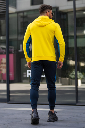 Trening bumbac Care-Fit Yellow/Navy [5]
