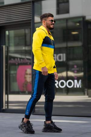 Trening bumbac Care-Fit Yellow/Navy [4]